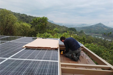 Solar project in Australia 655.2kw