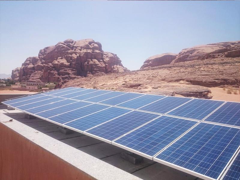 32KW solar project in Jordan 2016