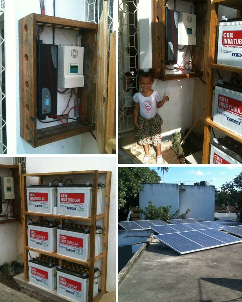 Tanzania 6KWp off-gird household system May, 2013