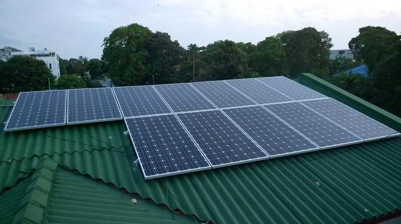 Colombo 32KW on grid project 2015