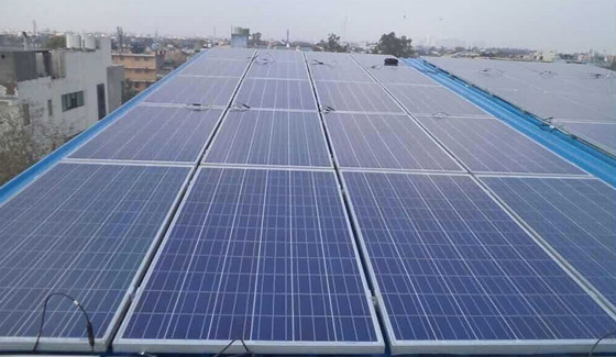 New Dehli India 80kw Roof-Top Project 2014