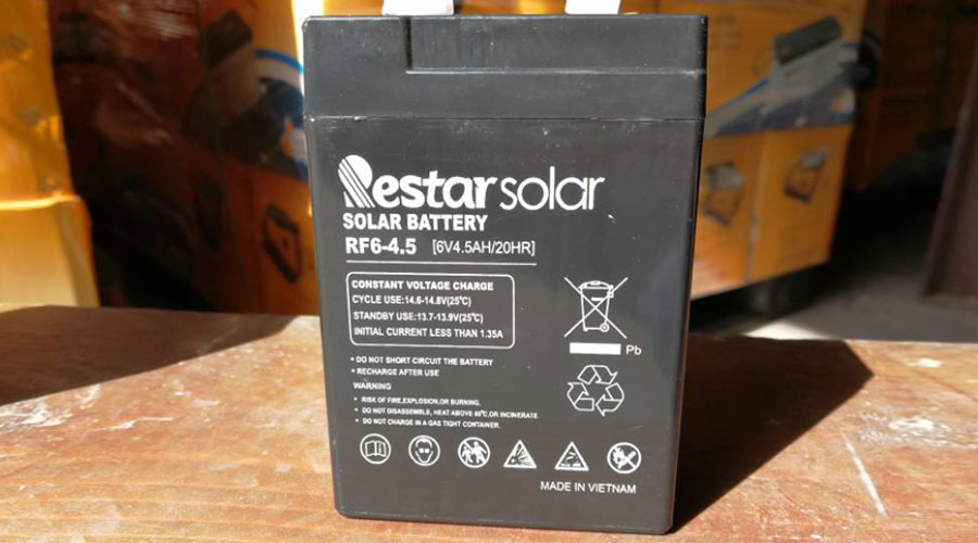 Solar Batteries RF6-4.5