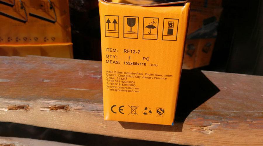 Solar Batteries RF12-7