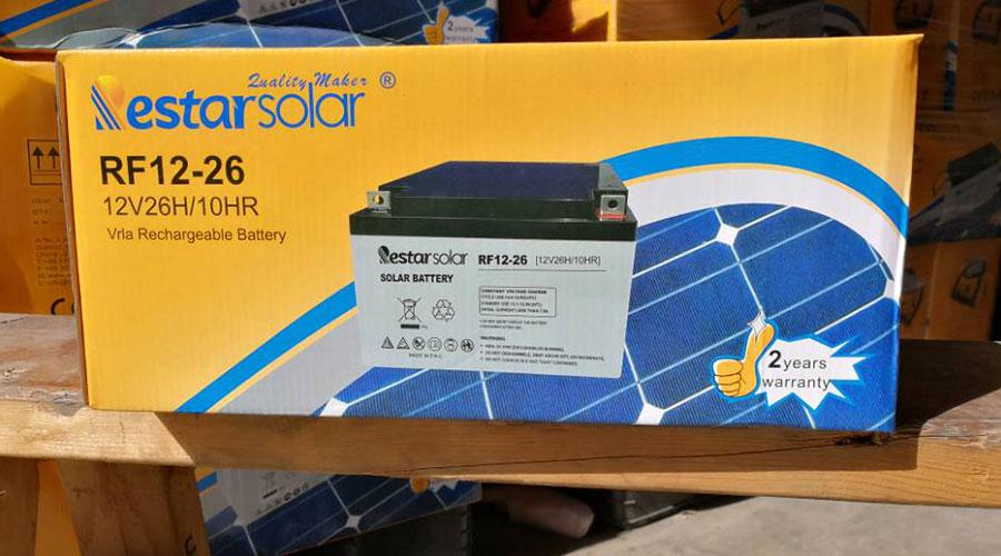 Solar Batteries RF12-26