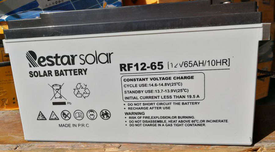 Solar Batteries RF12-65